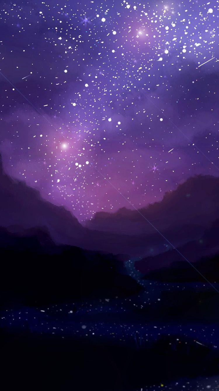 Night Iphone Stars Wallpaper Best Wallpaper Hd Iphone Wallpaper Stars Iphone Wallpaper Sky Iphone Wallpaper Violet