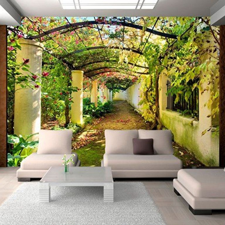 22 Amazing 3d Wall Mural Design Ideas Living Room Floor Murals