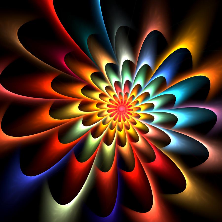 Mandala Do Caleidoscópio Por DennisBoots No DeviantArt