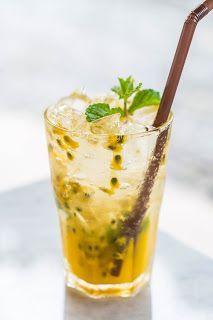 Drink de Maracujá e Gin #bestgincocktails
