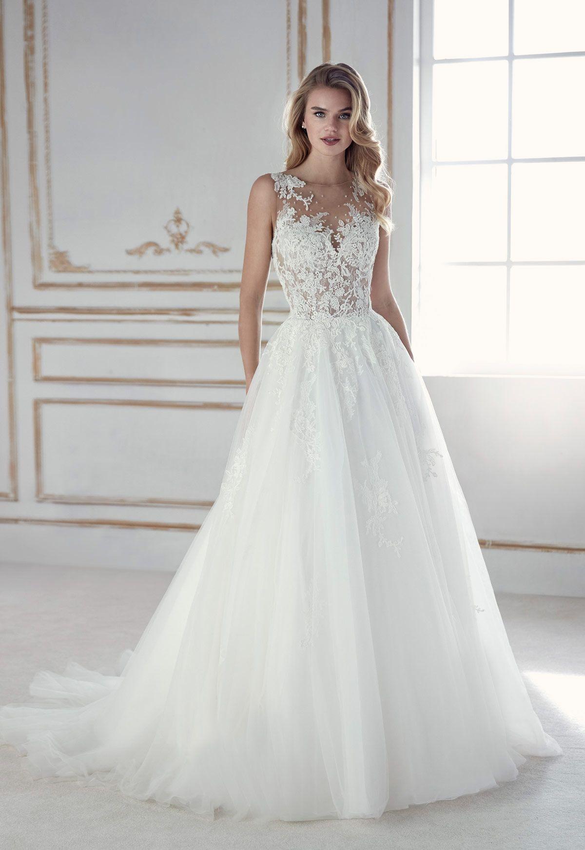 4c4f560db5 Vestido de novia Modelo Perla