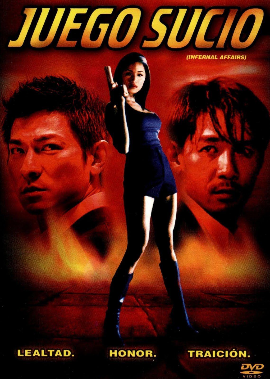Juego sucio [Vídeo (DVD)] = Infernal affairs / director, Andrew Lau, Alan Mark. El Mundo, D.L. 2011