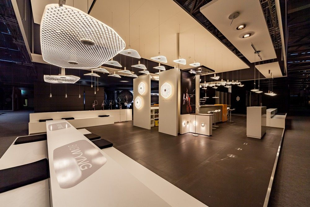 The WYNG lamp had its premiere at the light fair in Frankfurt. (Source: ldm.de)