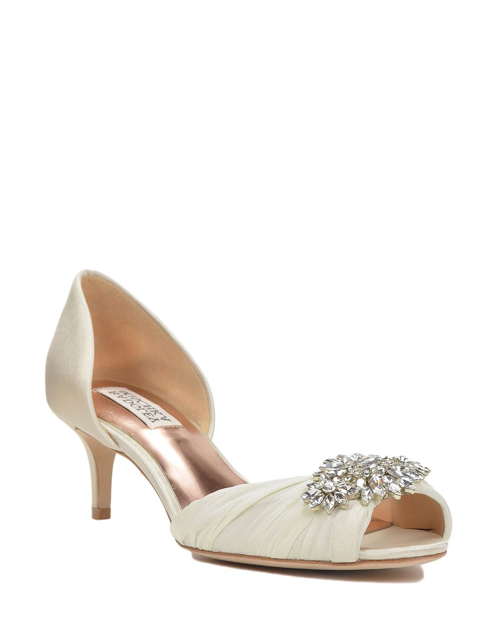 CAITLIN by Badgley Mischka James Ciccotti Bridal Shoes & Accessories