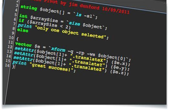 Maya-MEL-Match-object-Pivot-script   3D Tools in 2019   Maya, Script