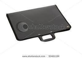 BLACK portfolio case