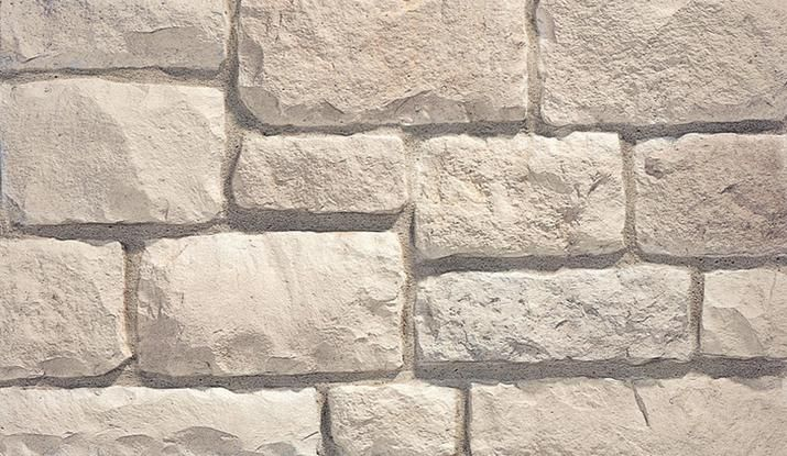 Eldorado Stone Austin Cream Limestone Home Exterior