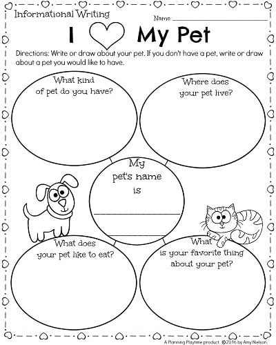 Kindergarten Math And Literacy Worksheets For February Planning Playtime Literacy Worksheets Kindergarten Writing Kindergarten Math