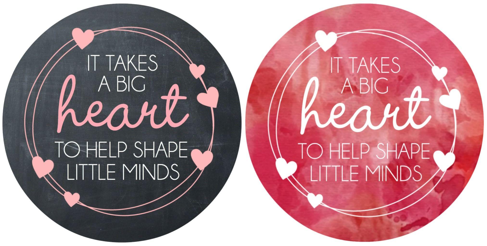Valentine S Day Teacher Gift Free Printable Teachers