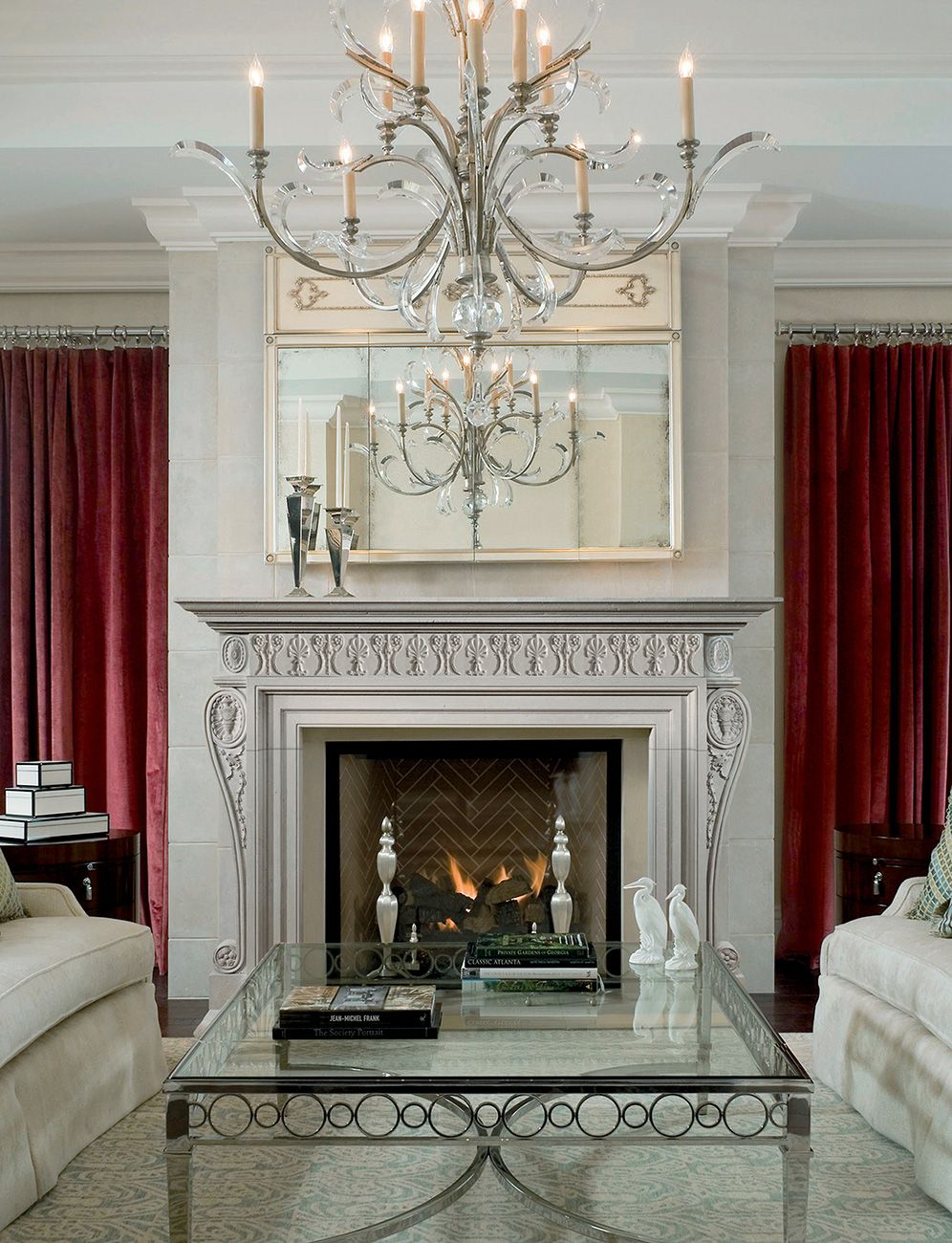 Fireplace Mantels Atlanta The Lauceton The Frieze Of This Decorative English Fireplace