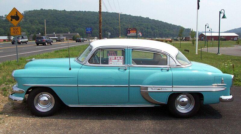 Image gallery 1954 chevy 4 door for 1954 chevy 4 door