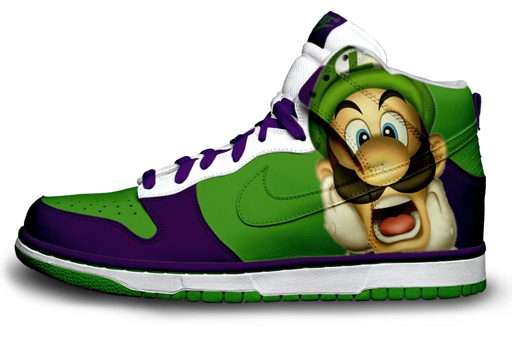 luigi shoes yes please!
