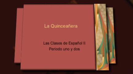 Las fiestas de Espanol II 2011 Video example of Quinceañera Project by Shawn Churchill
