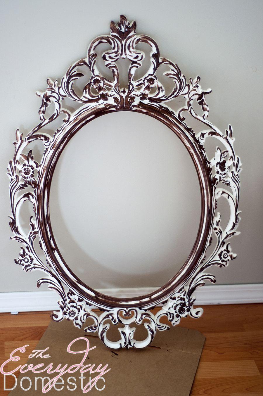 UNG DRILL Mirror - IKEA Hack {guest post | moda Paris, Dormitorios ...
