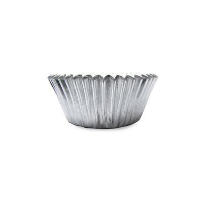 1 x 2 x 1 Mini Silver Foil Baking Cups 960 CT