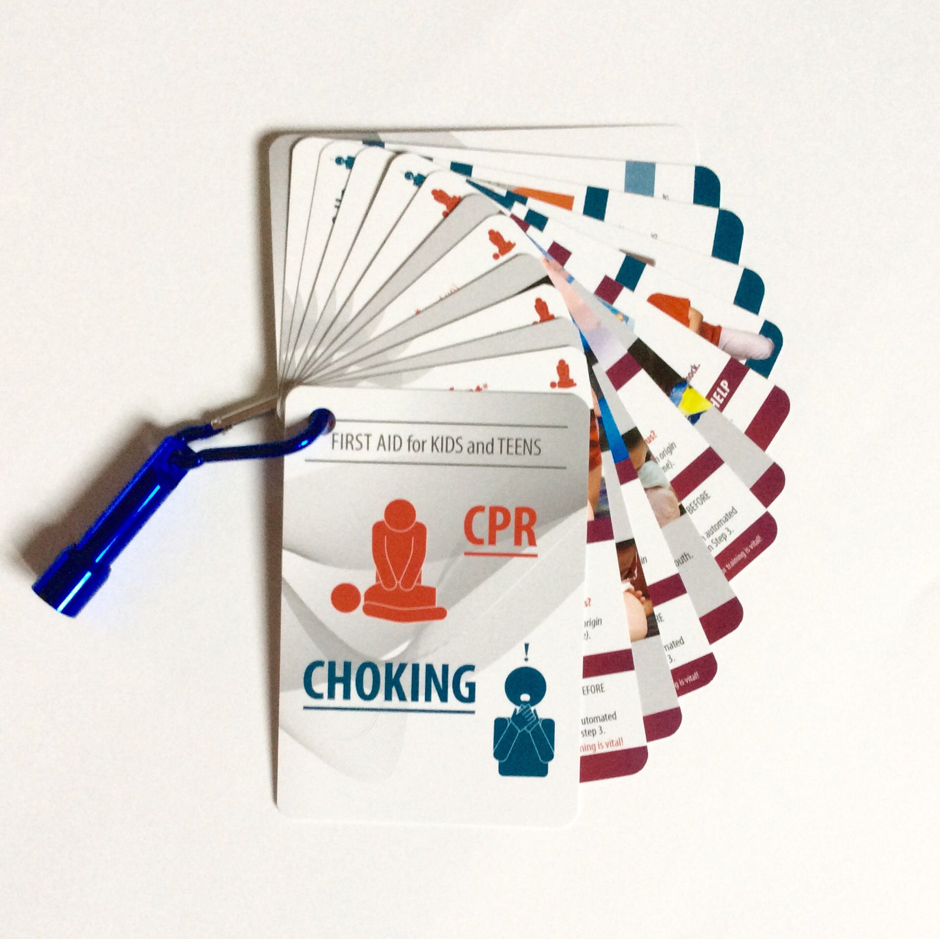 Just arrived! CPR & Choking guidelines for infants to