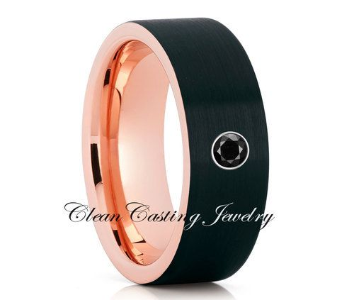 tungsten wedding band black diamond tungsten ring anniversary ring engagement httpblackdiamond - Wedding Ringscom