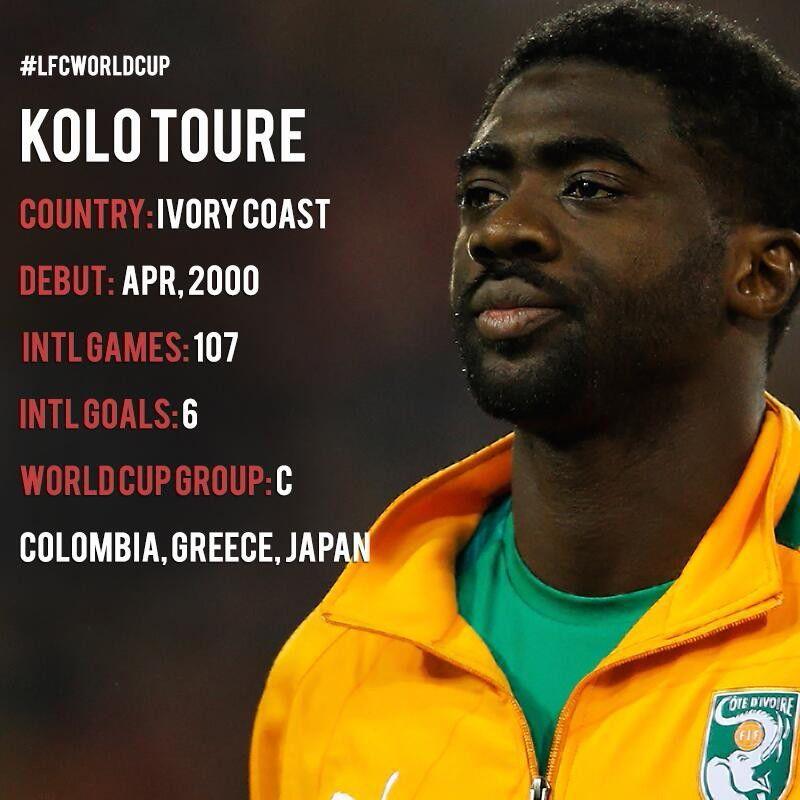 Kolo toure! The greates man!