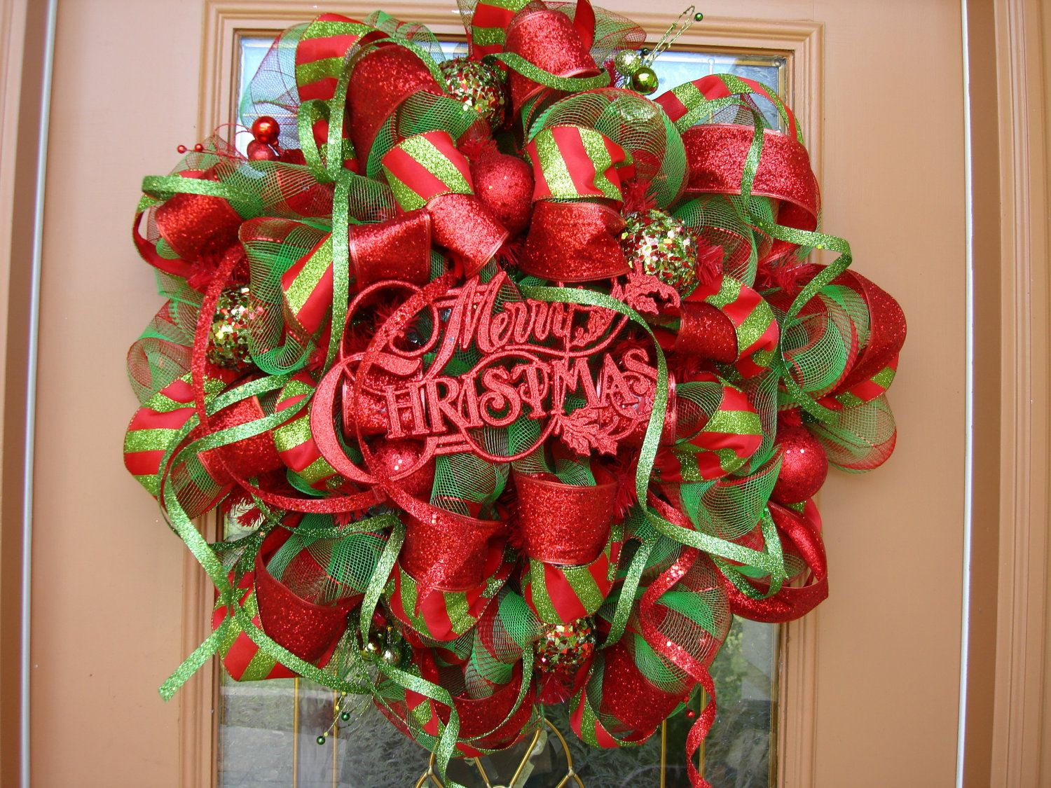 salechristmas wreath deco mesh wreath wreath red and by decodzigns 11000