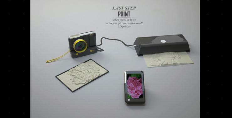 3D Image You Can Printer | Visually impaired can 'see' photos with 3D printer hookup | DVICE