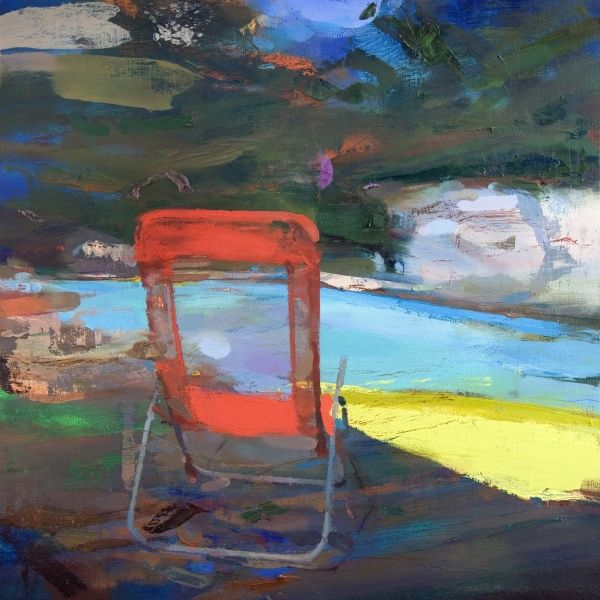 New Blood Art | Pool Chair by Carlos San Millan | Buy Original Art Online | Artworks by Emerging Artists for Sale
