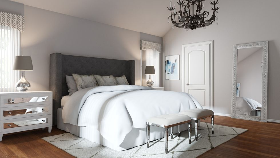 1 Bedroom Budget in 3 Different Styles | Glam bedroom, Bedrooms ...