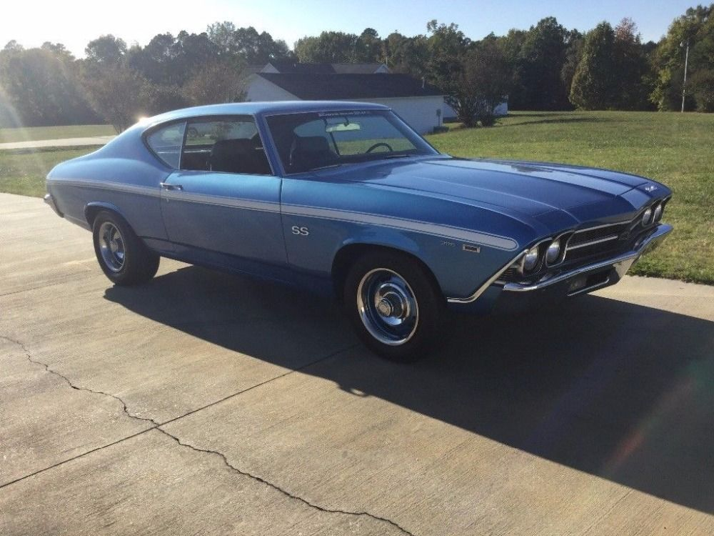 Used 1969 Chevrolet Chevelle -BUILT SS396/402CI BB V8 LS3 ...