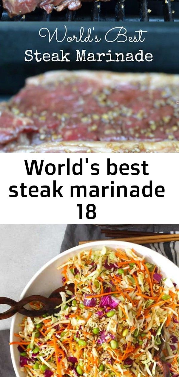 Worlds best steak marinade 18 This truly is the Worlds Best Steak Marinade Try it once and it will become a recipe you use over and over for years Absolutely delicious Pi...