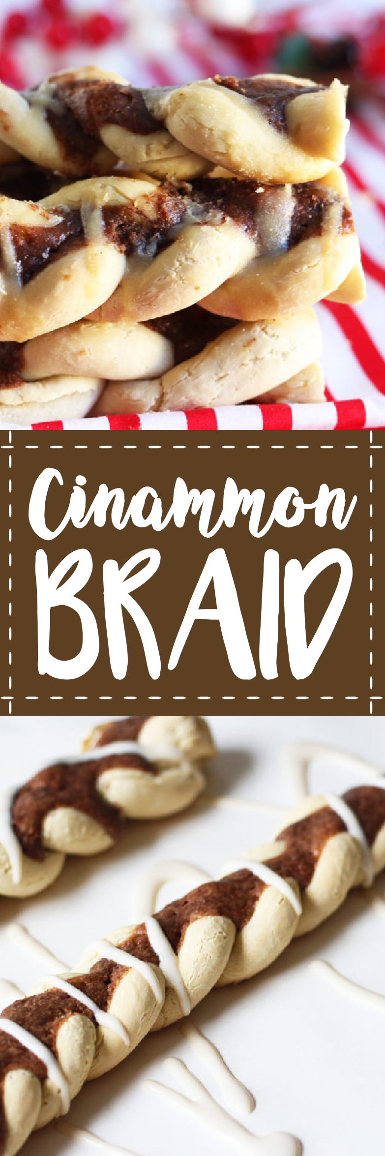 This cinnamon braid is combination bread and cinnamon roll, gluten free, vegetarian and delicious.