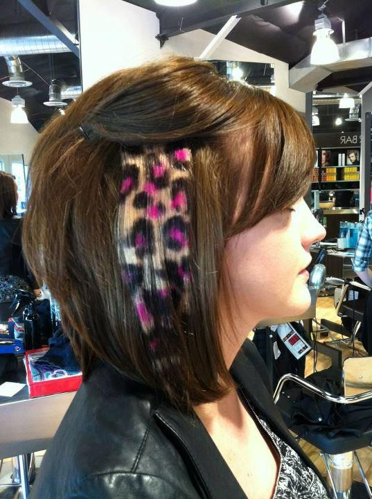 Jonnie Mount Created This Bold Clip In Hair Piece At Paul Mitchell