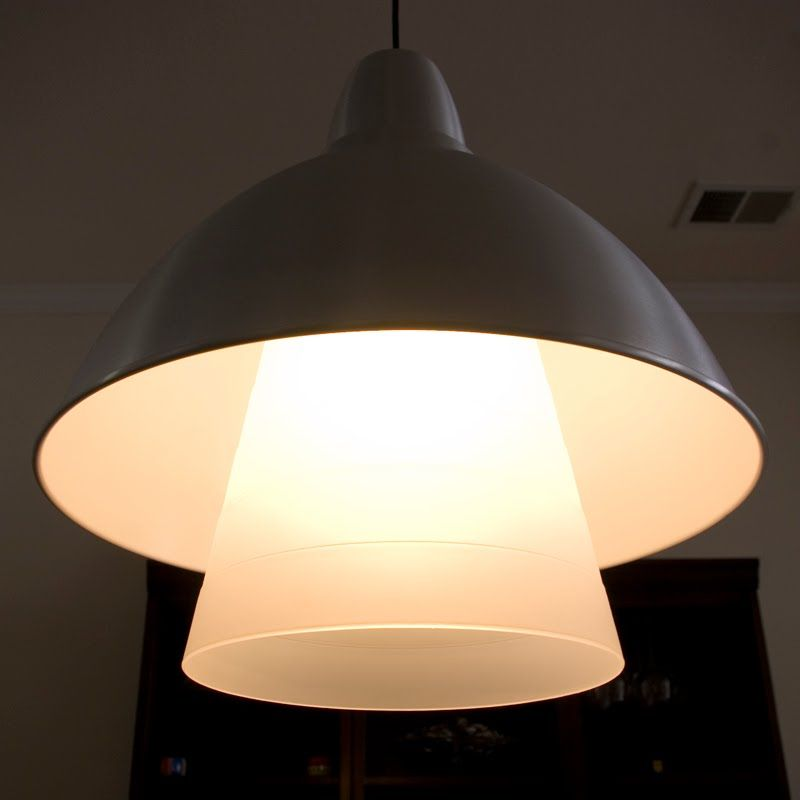Ikea Hackers Diy Create A Diffuser For The Foto Ceiling Pendant