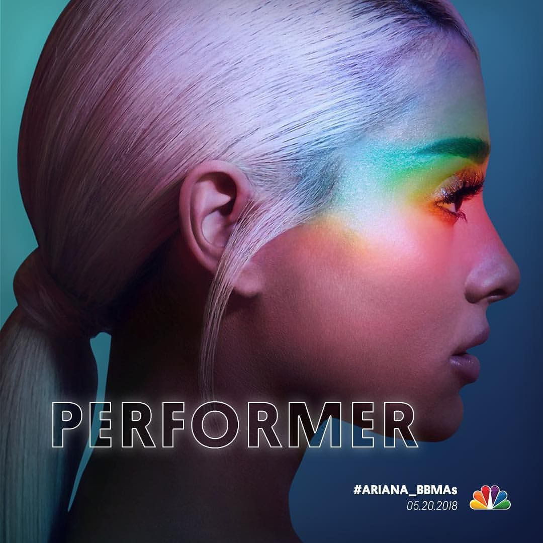 Ariana Grande Is Performing At The Billboard Music Awards 2018 On