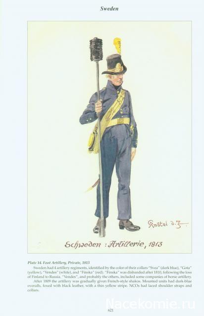Foot Artillery Private 1813