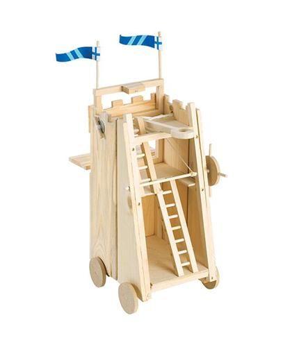 Medieval Siege Tower Model Kit