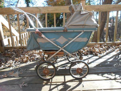 Vintage babyzimmer ~ Vintage baby carriage stroller 1940s collier keyworth