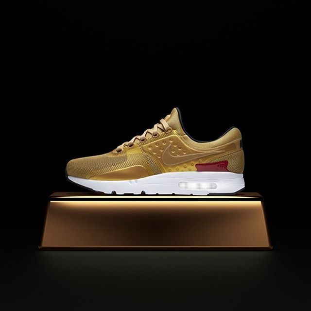 e51383c20c310 The Nike Air Max Zero  Metallic Gold  arrives Thursday 5 18 at Jimmy Jazz