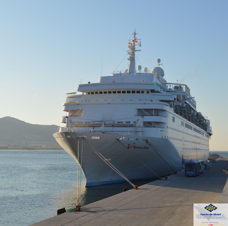 Cruceros-Puerto-de-Motril-Thomson Dream - Junio 2014