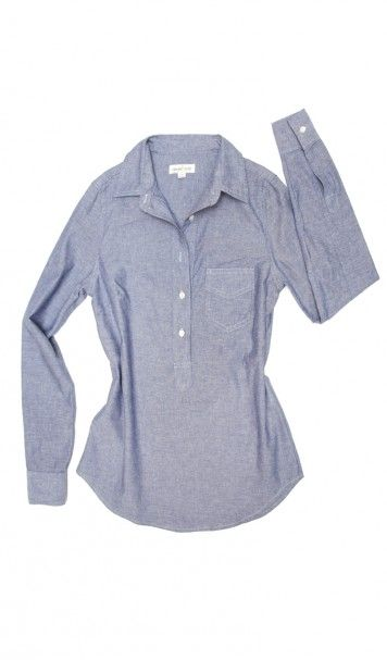 Shirt of the week (I wore it twice :))    http://www.amourvert.com/rose-chambray-buttoned-blouse-organic-cotton/