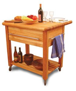 @Overstock - Grand Workcenter with drop leaf brings style and function to your kitchen  Furniture is made of solid domestic hardwood  Work station features a large capacity, 10-inch deep drawer and three chrome towel barshttp://www.overstock.com/Home-Garden/Grand-Workcenter-Drop-Leaf-Kitchen-Cart/2613374/product.html?CID=214117 $606.99