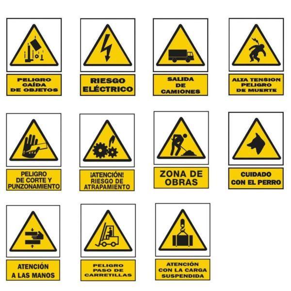 señales de peligroo advertencia. | Arbolados | Pinterest ...