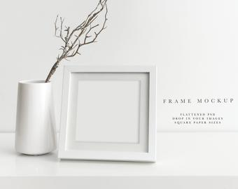 Wall Art Mockups Lightroom Presets By 51countriesandcounti Landscape Canvas Frame And Living Room Etsy Modern Frame Mocku Modern Frames Frame Portrait Frame