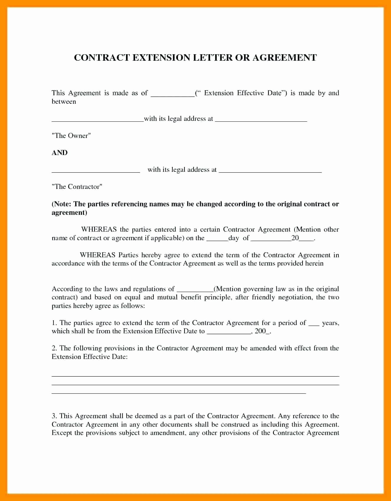 Business Contract Template Free 2020 Contract Template