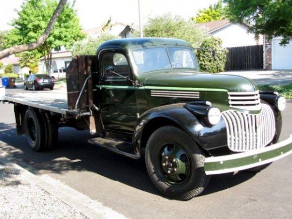 Napa Valley Grape Hauler 1945 Chevrolet Flatbed Chevy Trucks 1946 Chevy Truck Chevrolet