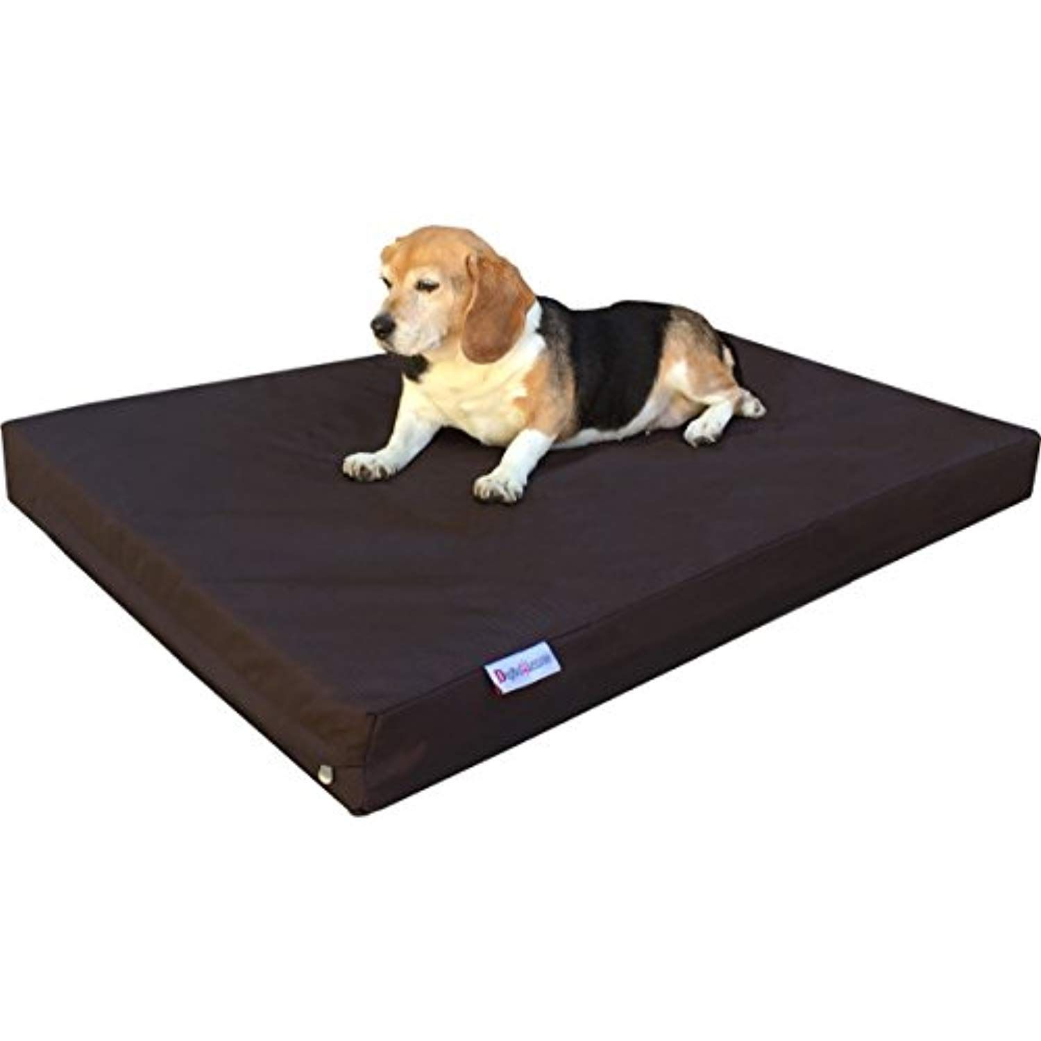 Dogbed4less Orthopedic Dog Bed With Memory Foam For Medium Large Pet Waterproof Liner With Strong Ballistic Nyl Memory Foam Dog Bed Orthopedic Dog Bed Dog Bed