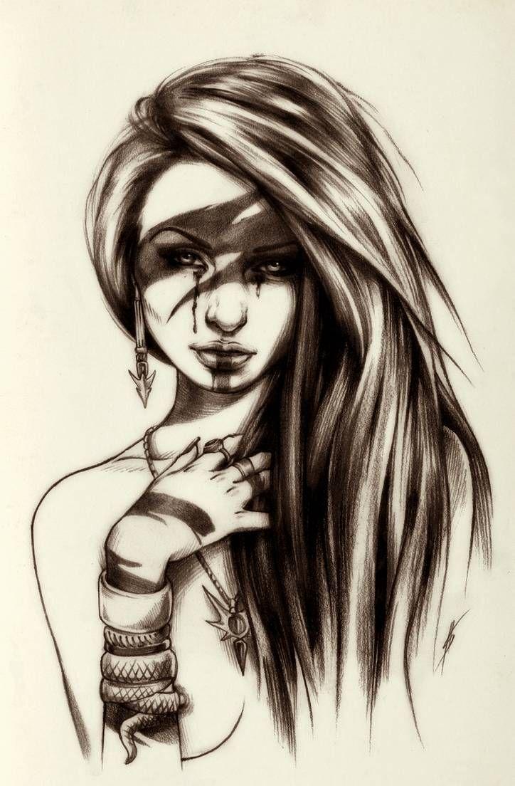Dead moon princess VII sketch by AntarcticSpring Warrior