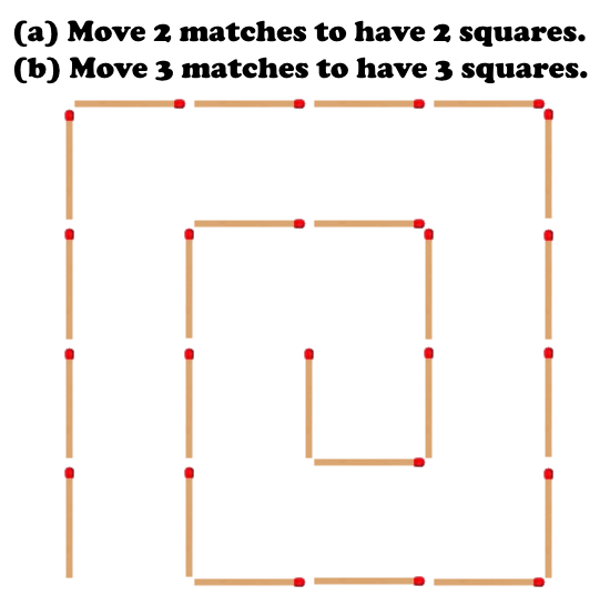 50 Brain Teasers Matchstick Puzzle