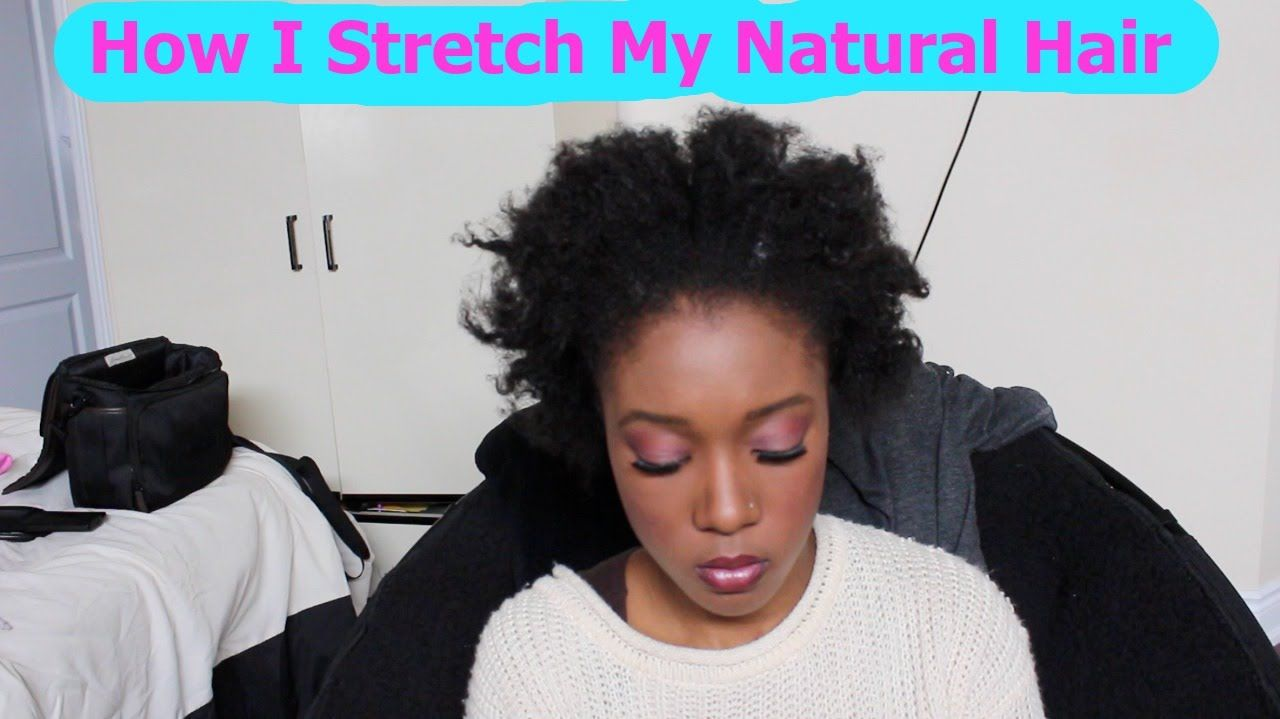 How To Stretch Natural Hair Without Heat After Washing 4c Hair Hair Without Heat Natural Hair Styles Short Natural Hair Styles