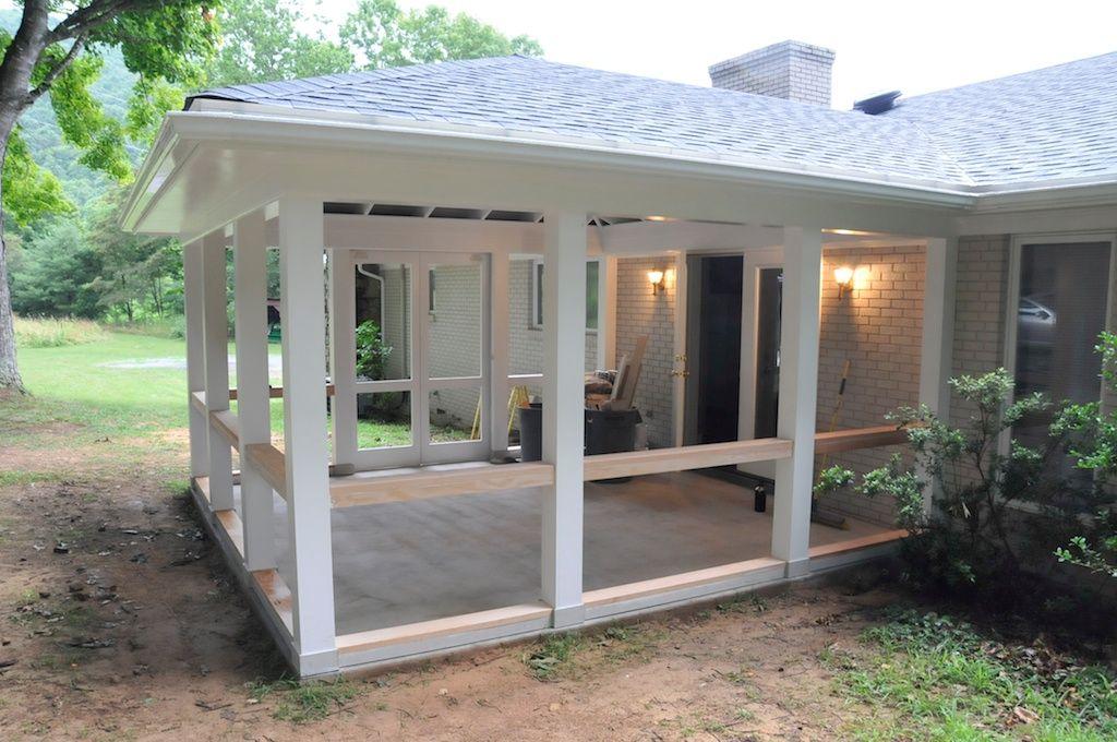 Captivating Andrew Watkins Custom Home Building Design Build Bean Renovation Highland  County Screen Porch