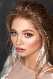 18 Soft Wedding Makeup Inspiring Ideas | Wedding Forward  18 Soft Wedding Makeup…