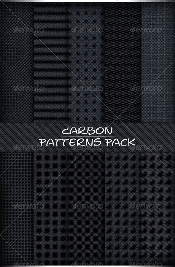 Here Is A Very New Carbon Patterns Pack You Can Use As Many Ways
